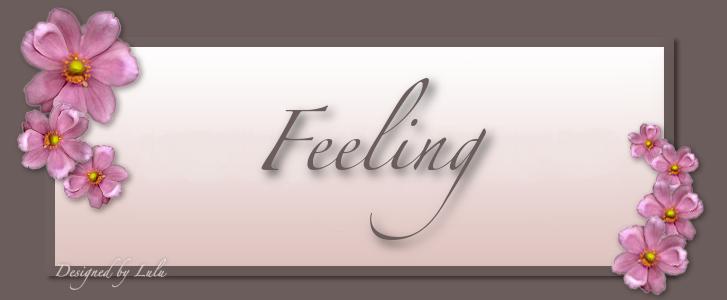 ⟣⊱✧ Feeling ✧⊰⟢