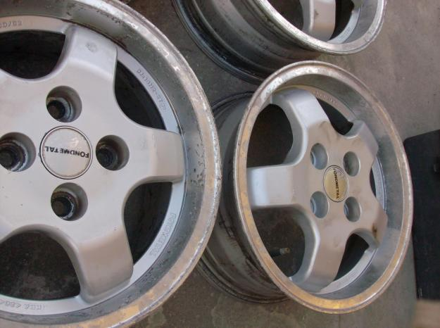 """[ VENDIDAS ] Jantes Fondmetal 14"""", de aba larga - Peugeot / Citroen / Ford [ Vendidas ] 13031521"""
