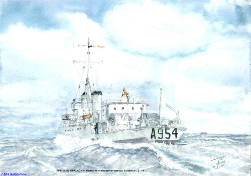 Les Artistes de la marine - De kunstenaars van de marine - Page 2 2011_a12