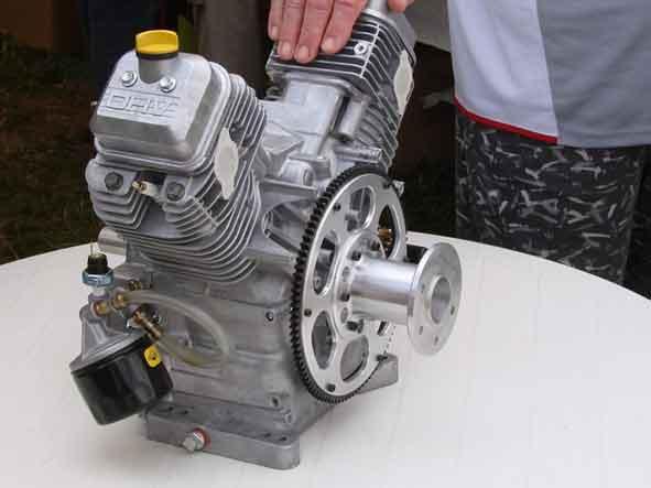 Avionnage d'un moteur de tondeuse Luciol11