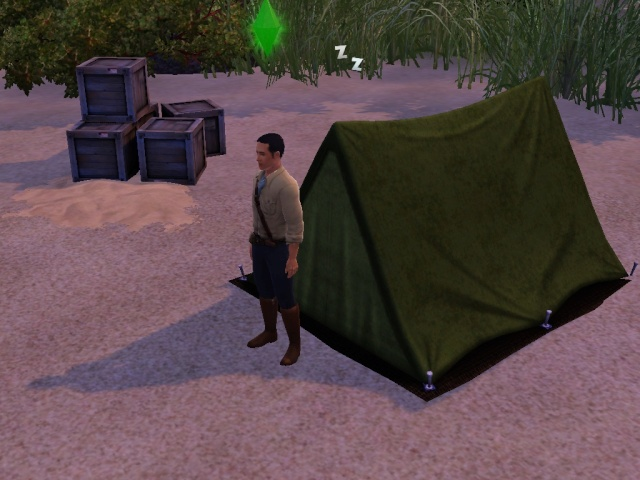 [Challenge sims 3] L'île Perdue Screen13