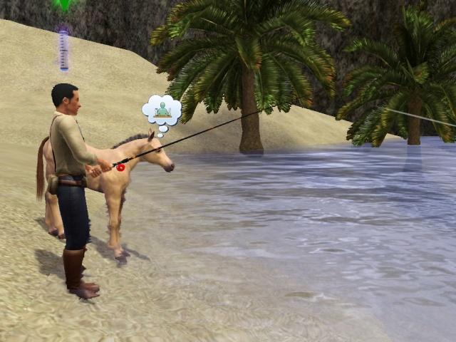 [Challenge sims 3] L'île Perdue Screen22
