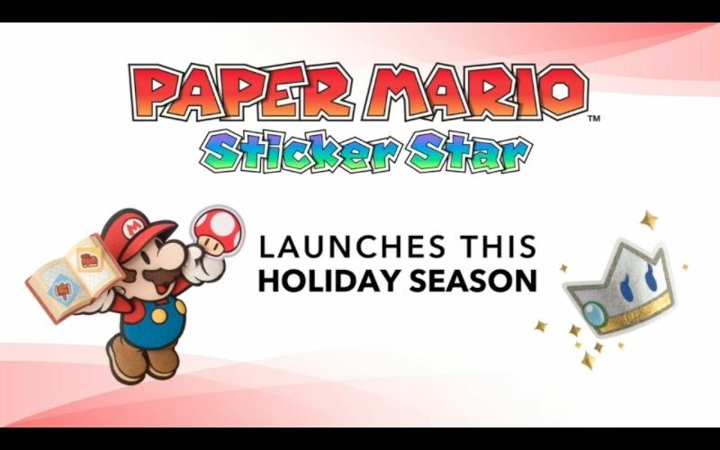 Un trailer pour Mario Paper : Sticker Star  Captur10