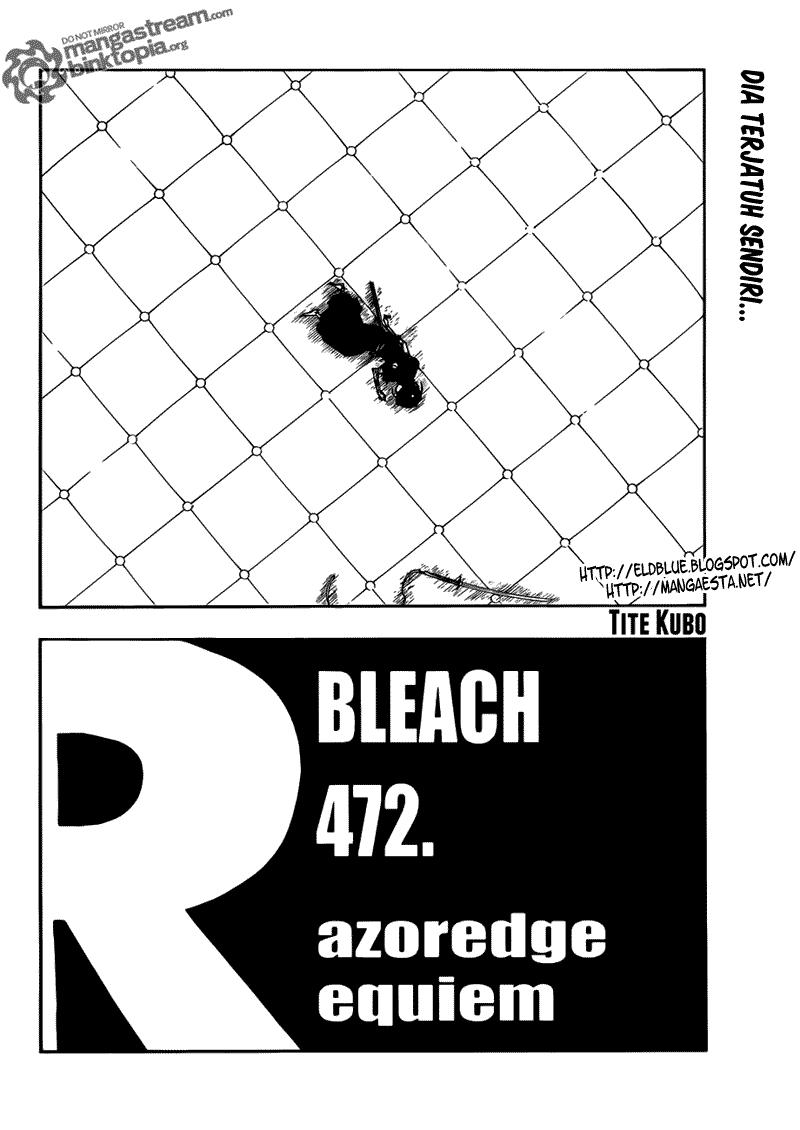 """Bleach 472_""""Rajoredge Requiem"""" versi B.Indonesia Bleach10"""