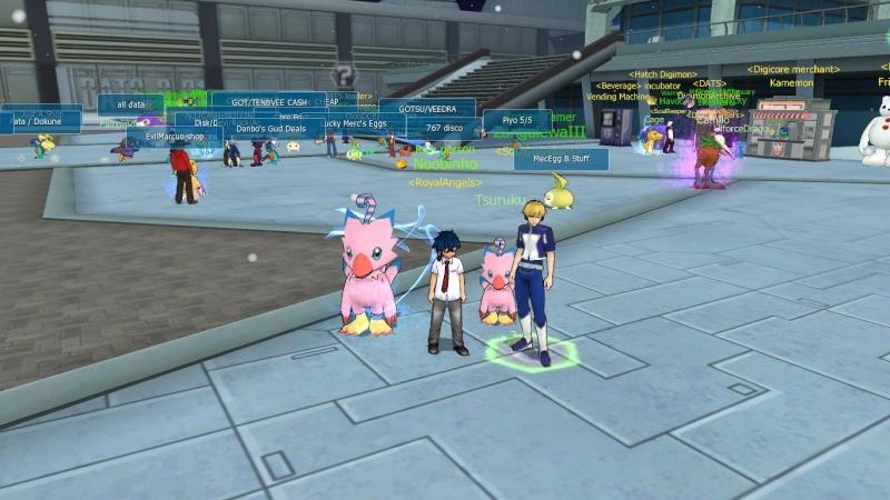 [DMO] Digimon Master Online 12012012