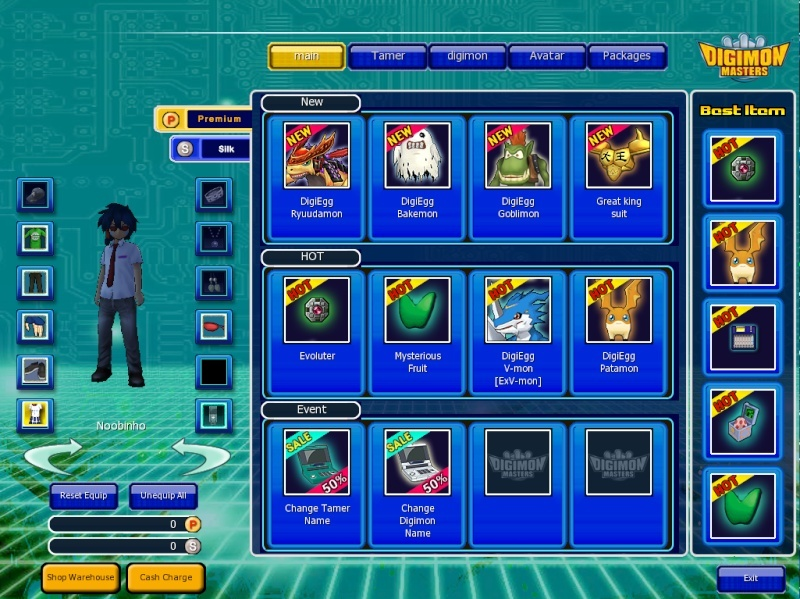 [DMO] Digimon Master Online Ccc10