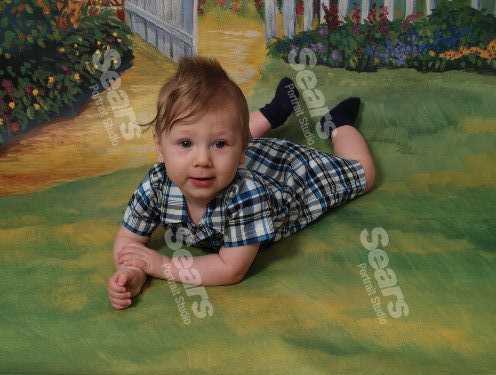 Caden's Easter Pictures :) 40507410