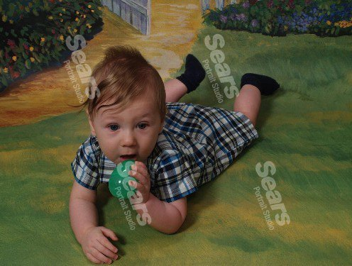 Caden's Easter Pictures :) 55648110