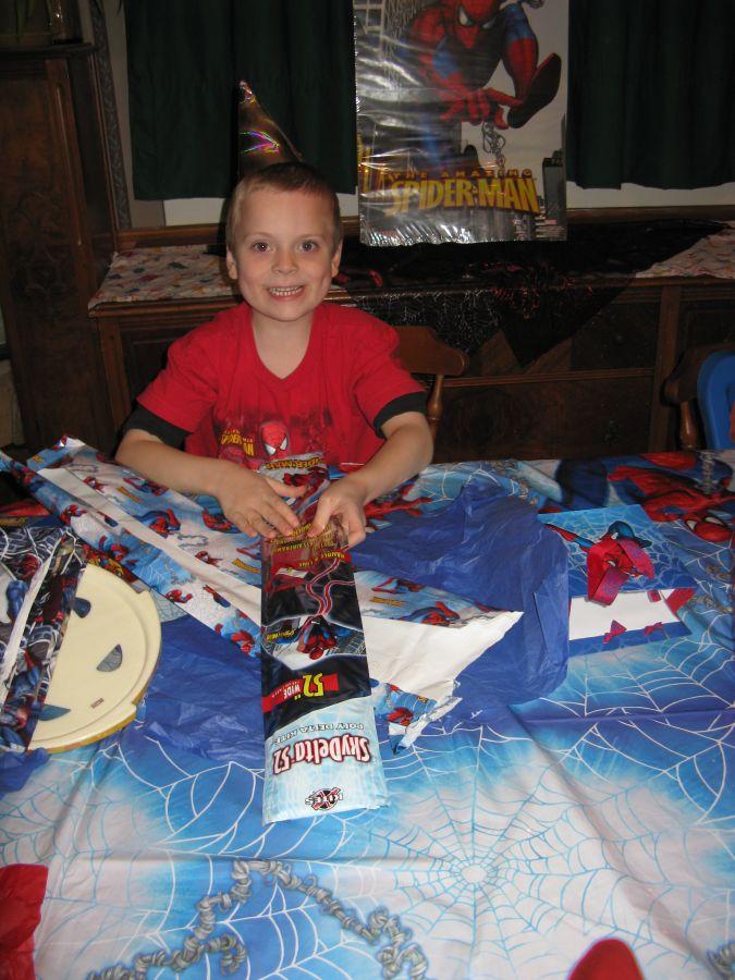 My son's 7th Birthday 1511