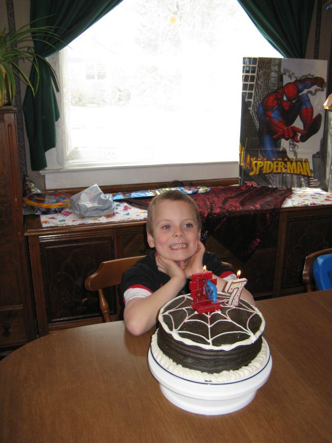 My son's 7th Birthday 4111