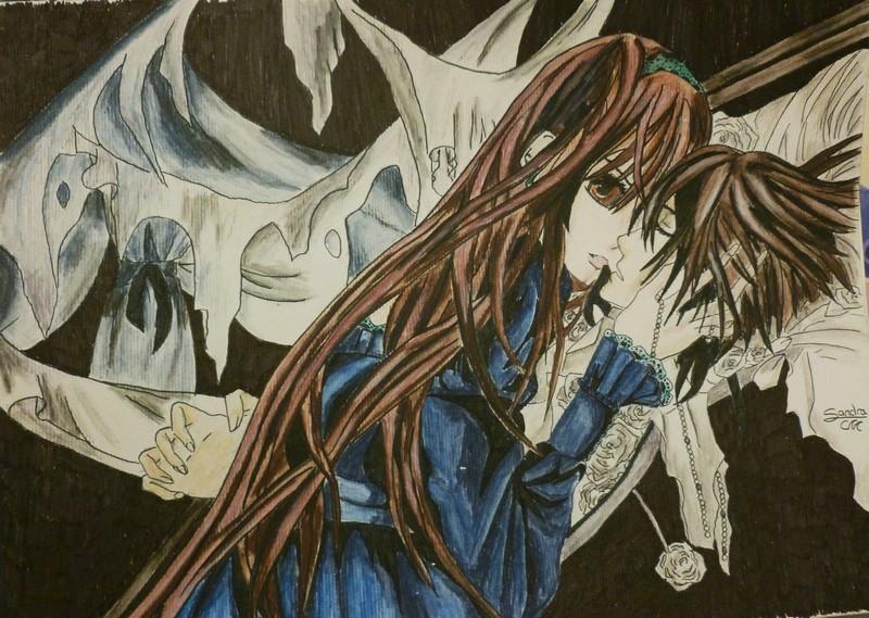 FanArt de Vampire Knight. [SandraCM] P1000215