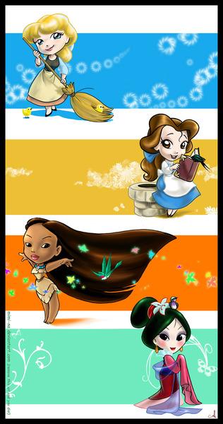 """[Images] """"Disney Chibis"""" 60995310"""