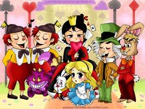 """[Images] """"Disney Chibis"""" Alice_10"""