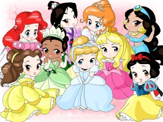 """[Images] """"Disney Chibis"""" Chibi_11"""