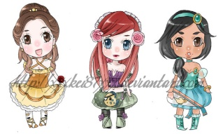 "[Images] ""Disney Chibis"" Disney10"