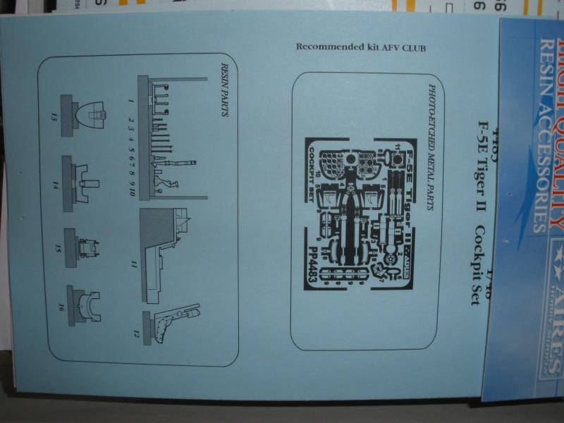 Montage F-5E Northrop AFV club-Ref AR 48102 - Mise à jour 11/02/2012 P1300119