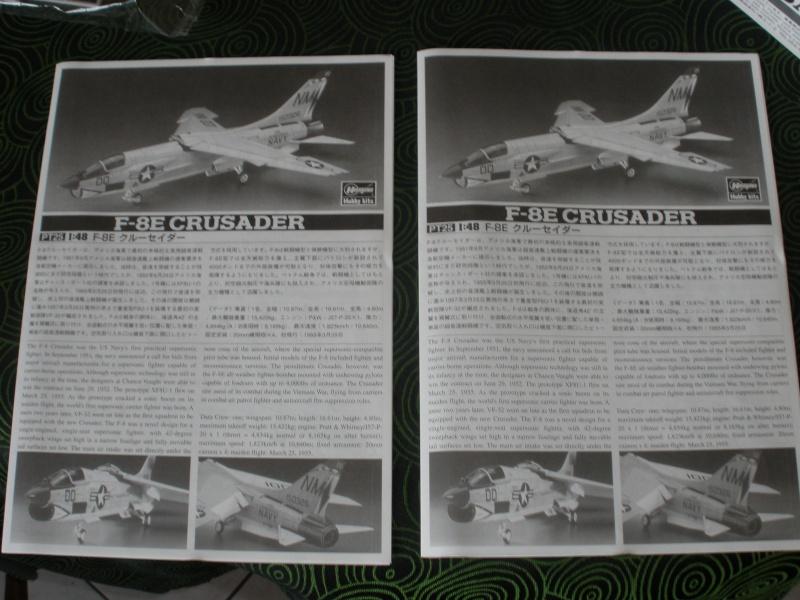 F-8E Crusader Hasegawa 1/48. P5070118