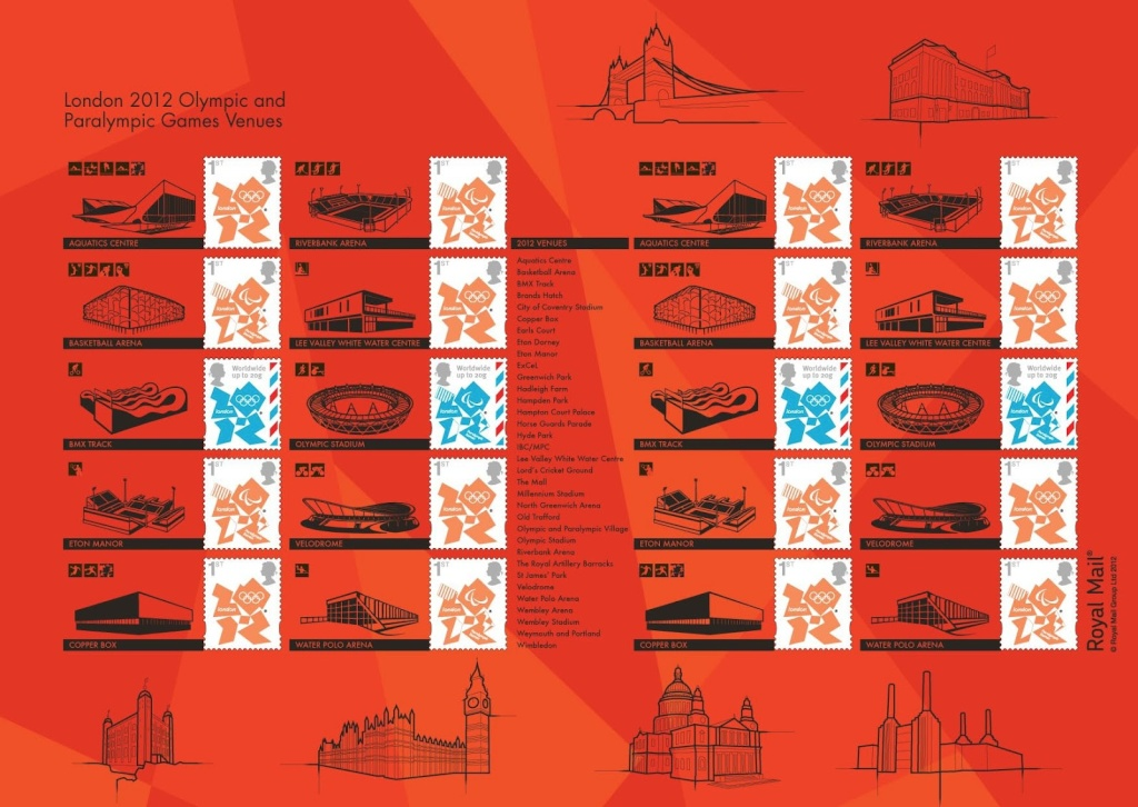 London 2012 Stamps - Great Britain (Royal Mail) - Stamps 12062711