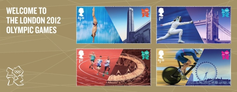 London 2012 Stamps - Great Britain (Royal Mail) - Stamps 12072710