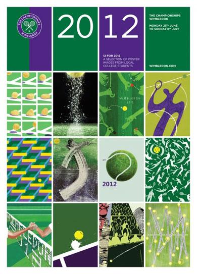 Affiche - Wimbledon 2012 2012po10