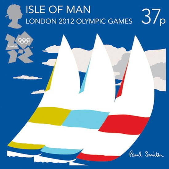 London 2012 Stamps - Isle of Man - 8 stamps _5745710
