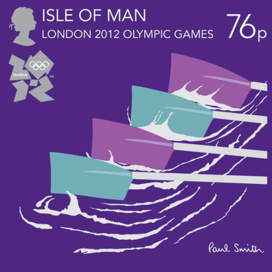 London 2012 Stamps - Isle of Man - 8 stamps _5745711