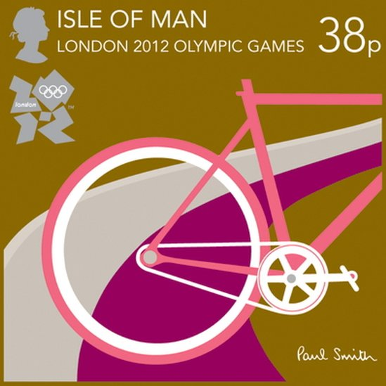 London 2012 Stamps - Isle of Man - 8 stamps _5745810