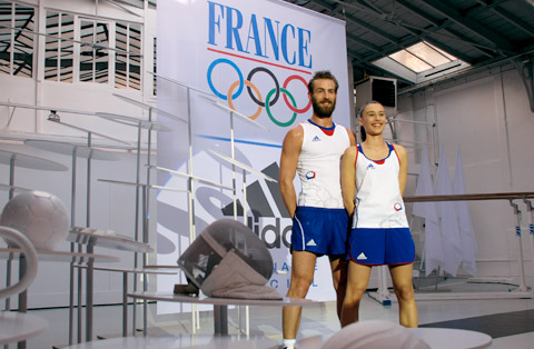 Londres 2012 - Equipe de France - Les uniformes Adid110