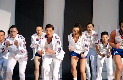 Londres 2012 - Equipe de France - Les uniformes Adid310