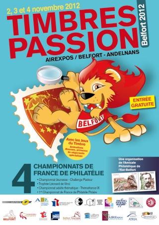 """Philatélie - Championnat de France - Concours Jeunesse """"Reflet Sport"""" Affich10"""