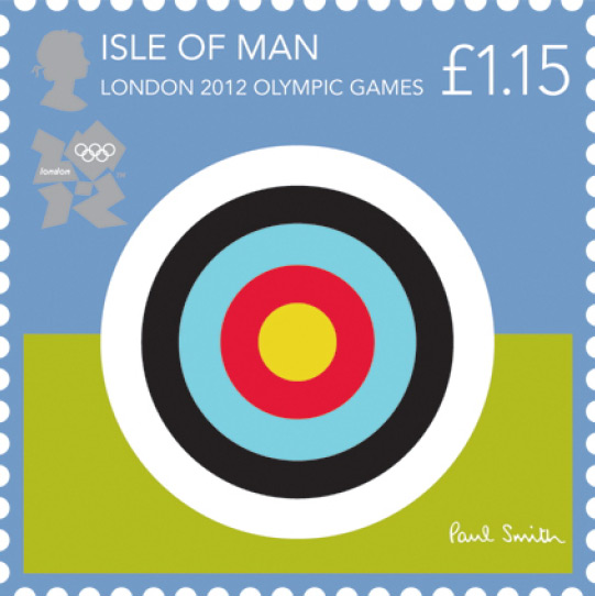 London 2012 Stamps - Isle of Man - 8 stamps Archer10