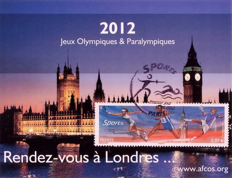 Bientôt les Jeux Olympiques de Londres 2012.... Cartea10