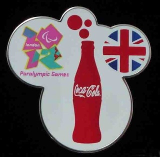 London 2012 Cocal Cola Pin Trading Centers Coke_b11