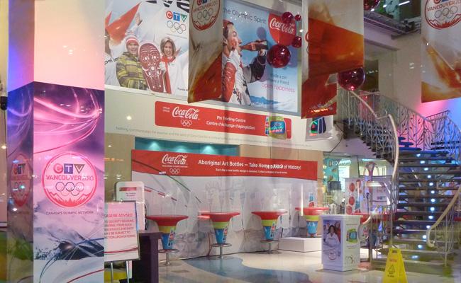 Retour sur les Centre d'Echanges de pin's COCA-COLA à Vancouver / Coca-Cola Pin Trading Center Vancouver 2010 Ctv_pt10