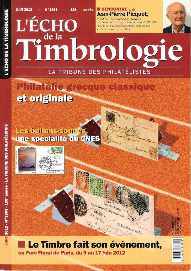 L'Echo de la timbrologie - Juin 2012 - Philatélie Olympique & Sportive Echo-d10