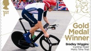 Timbre Officiel (Royaume-Uni) Jeux Olympiques de Londres 2012 - Timbres qui fêteront les médailles d'or britanniques Gold_b10