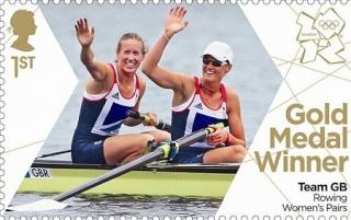 Timbre Officiel (Royaume-Uni) Jeux Olympiques de Londres 2012 - Timbres qui fêteront les médailles d'or britanniques Gold_r10