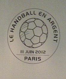 Timbre France - Handball (argent) 2012 Img-2027