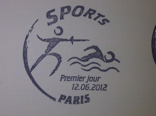 Timbre France - Londres, Sports 2012 Img-2028