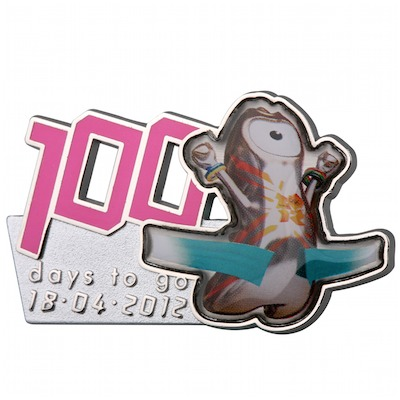 London 2012 - D-100 pins... J-100p11