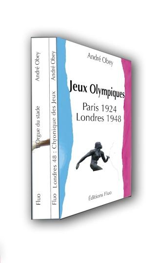 Livre - Jeux Olympiques de Paris 1924 & Londres 1948 par André OBEY Livre111