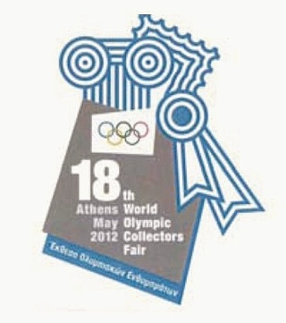 18th World Olympic Collectors Fair - Athens, Greece - 17th to 20th May 2012 Logo10