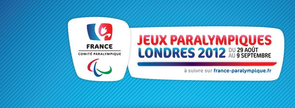 Londres 2012 - L'Equipe de France Paralympique Logoed10