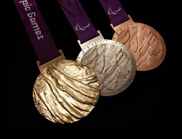 Londres 2012 - Les médailles paralympiques London11