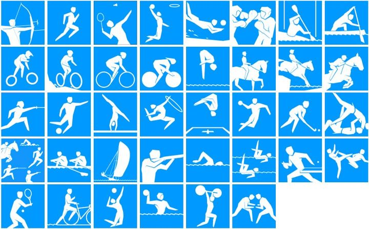 Londres 2012 - Les pictogrammes officiels Oly_pi10