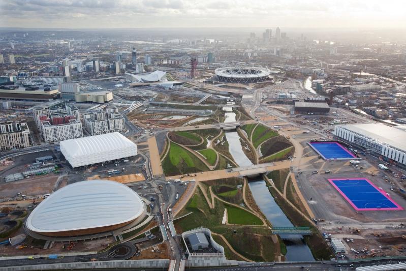 Londres 2012 - Visite du Parc Olympique (Stratford) Olympi12
