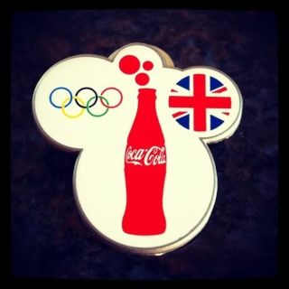 London 2012 Cocal Cola Pin Trading Centers Pincok11