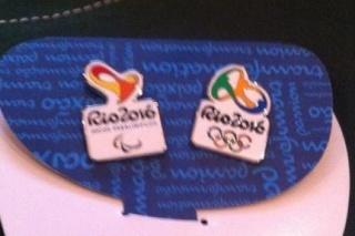 Rio 2016 - Pin's des Jeux Olympiques et Paralympiques Rio20110