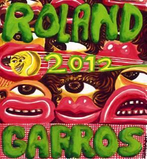 Affiche - Roland Garros 2012 Roland10