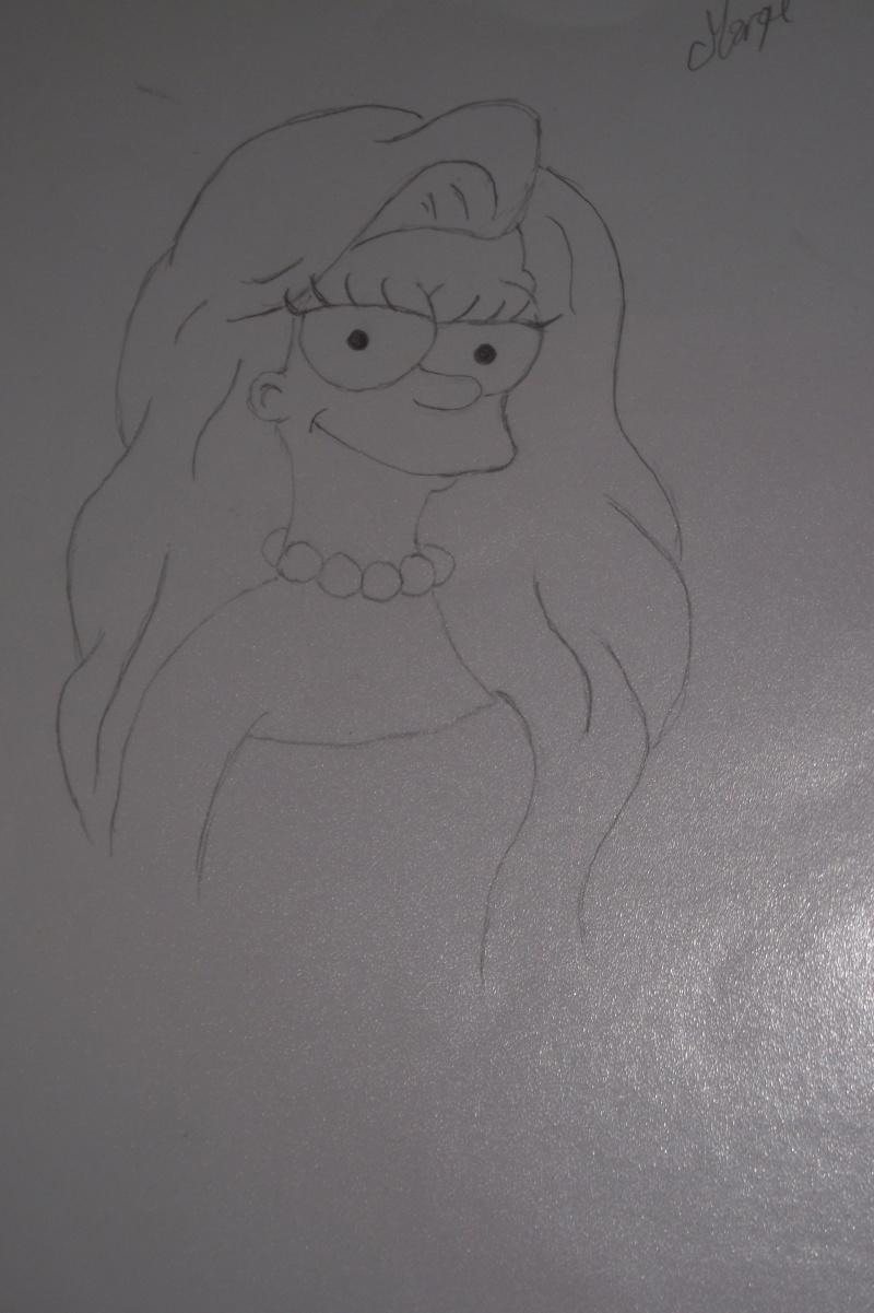 Mes dessins autre que Disney !  - Page 3 Marge10